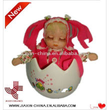easter toys with music porcelain dolls