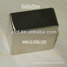 50x50x25mm strong n52 neodymium magnets