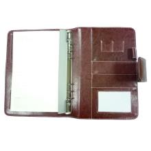 Genuine Leader A5 pasta de arquivos, carteira do organizador (EA5-004)