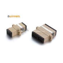 Adaptador de Acoplador de Flange de Fibra Óptica Duplex Simples Simplex SC