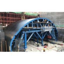 Open-Cut Tunnel Trolley Formwork System