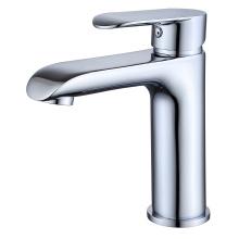 Misturador quente da água fria da bacia da cara do banheiro