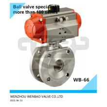 SUS316L Pneumatic Italy Ball Valve Dn15 Pn16