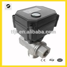 CWX15n электрический клапан 12В 3 исхода для Ирригационного оборудования,питьевой воды оборудование
