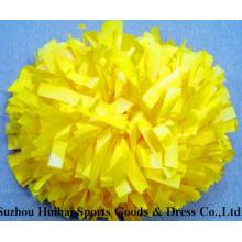 Cheerleading POM POM: Kunststoff gelb