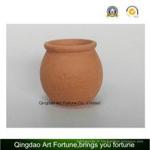 Porte-bougie en plein air-Clay Pot céramique en forme de bombes