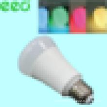 Lâmpada led inteligente lâmpada de controle remoto lâmpada Smart luz 1600 cores RGB