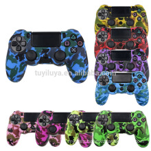 Camouflage Camo Protective Skin Grip Cover Silicone Case For Playstation 4 PS4 Pro PS4 Slim Gamepad