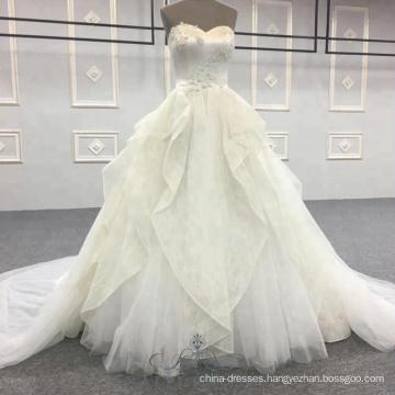 Alibala Custom Made Gown Wedding Dress Bridal Gown Modest Prom Sweetheart Wedding Dresses for Women Ladies Girls
