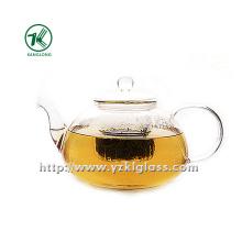 Clear Single Wall Glass Teapot by SGS (1500ML)