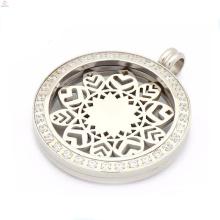 Unique zircon coin pendant jewelry,interchangeable coin pendant
