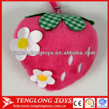 Various types cute mobile screen cleaner plush toy
