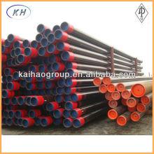 API 5CT J55 K55 N80 L80 Tubo e tubulação de revestimento P110