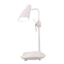 Hot selling desk lamp with fan USB charger learning lamp eye protection desk lamp