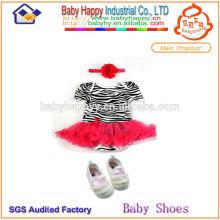 Dropship nouveau modèle stock bébé tutu robe Anniversaire