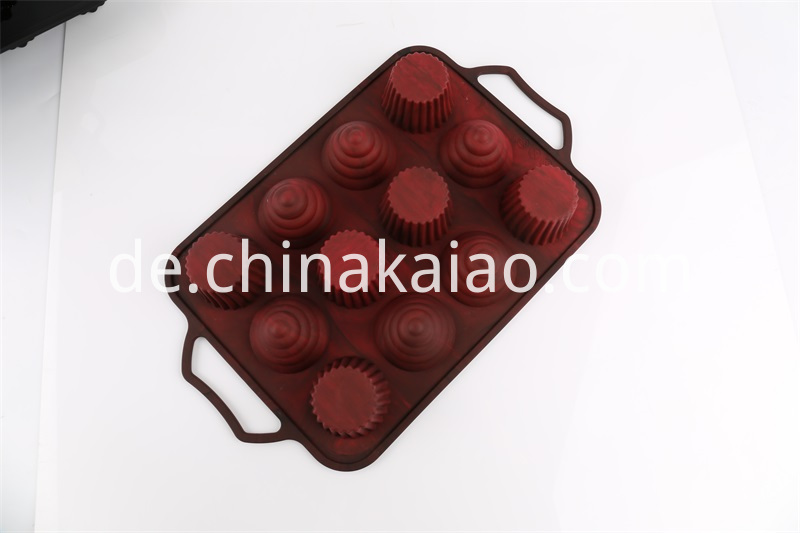 Silicone Tray For Cupcake
