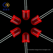 Hot selling products 10mm red diffused round led lamp