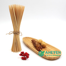 Outdoor Cooking and Grilling BBQ Bamboo Skewers Bamboo Sticks Bulk Packing