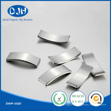 High Powered Tile Shaped NdFeB Magnet for DC Moto