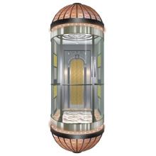 Tres piezas de acrílico del plexiglás seguro de cristal decoración de ascensor