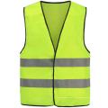 PVC Röntgenfaden Gelb Reflektierende Sicherheitsweste