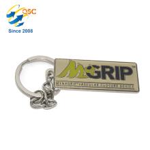 Logo personnalisé de haute qualité sac à main en métal 3D Keychain