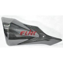 Peças de fibra de carbono da motocicleta Exhaust Protector for Suzuki Gsxr600 / 750 12