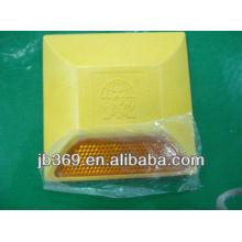 100*100*20 plastic yellow ABS reflective road stud