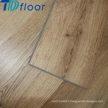 Plancher en bois de planche de vinyle de PVC de surface avec la conception de clic