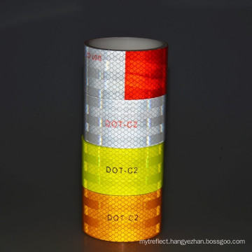 Red White Reflective Tape For Vehicle