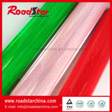 Reflective prismatic film rolls for shoes material