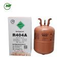 Chine 99,9% pureté mélangé réfrigérant R404a gaz non rechargeable cylindre 9,5 kg humidité 10PPM pour Singapour