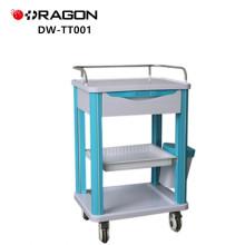 Chariots médicaux de chariot à traitement médical approuvé par CE de fabricants de chariot d'hôpital