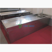 Ysjp-01 Medical Stainless Steel Autopsy Table
