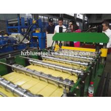 Mitsubishi PLC Автоматическая высокоскоростная стальная стеновая рулонная машина для формовки, стальная металлическая строительная техника