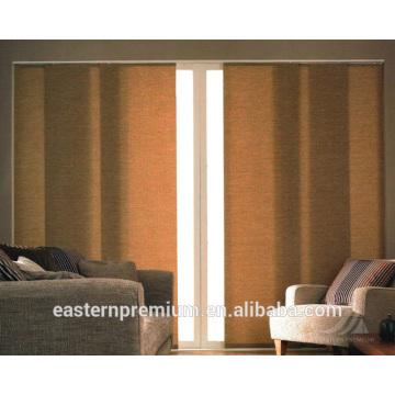 Cortinas verticales / cortinas verticales calientes de la pista del panel de la manera de la venta