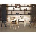 Оптовые деревянный кожаный стул ресторана для дома (СП-EC818)