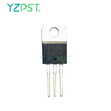 Triac sans amortisseur de 25 A adapté à la commutation CA à usage général