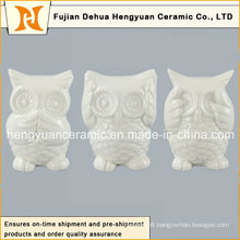 Lovely Mini Ceramic Owl in High Quality, (Home Decoration)
