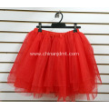 Plain Red Short Skirt