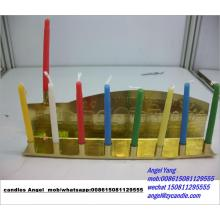 Stock Jewish Candle Candle للمهرجان
