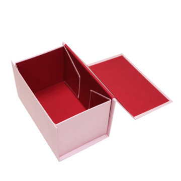 Packaging Supplies Pink Paper Origami Foldable Gift Boxes