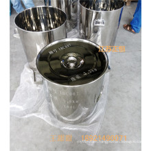 SUS 304 SUS 316L Stainless Steel Drum or Stainless Steel Container 100L