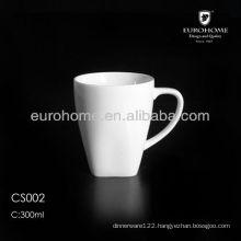 wholesale porcelain square coffee mug