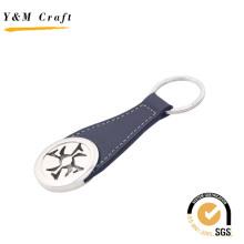 Porte-clés en cuir en cuir de vente chaude pour cadeau