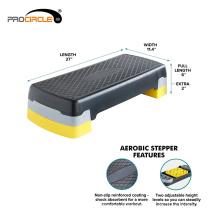 Non-slip Stepping Surface Aerobic Step 108cmx42cmx15cm, 72cmx32cmx23cm