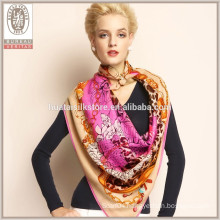 2015 new product 100% wool hand make winter scarf