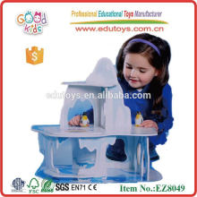 OEM New Products and High Quality Wooden Baby Toys DIY Wooden Penguin Island Toys