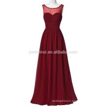 Evening Gowns for Wedding 2016 High Quality A-line Beaded Sequined Long Prom Dresses Robe De Soire Vestido de Festa longo