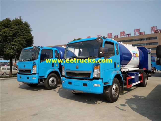4x2 Propane Filling Trucks